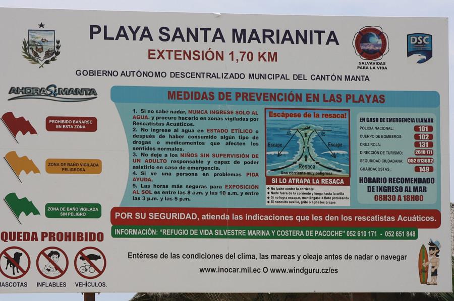 плакат на пляже