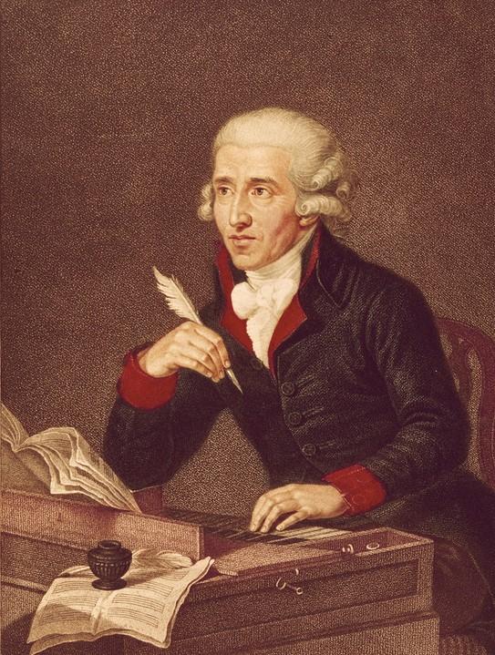 Франц Йозеф Гайдн — с портрета работы Л. Гуттенбрунна