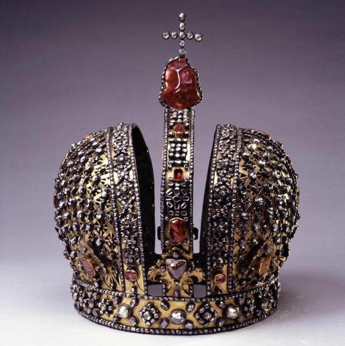 Корона Анны Иоанновны - Оружейная палата Московского Кремля