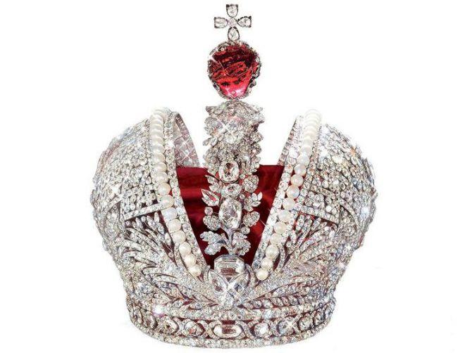Большая Императорская корона - Алмазный фонд Московского Кремля