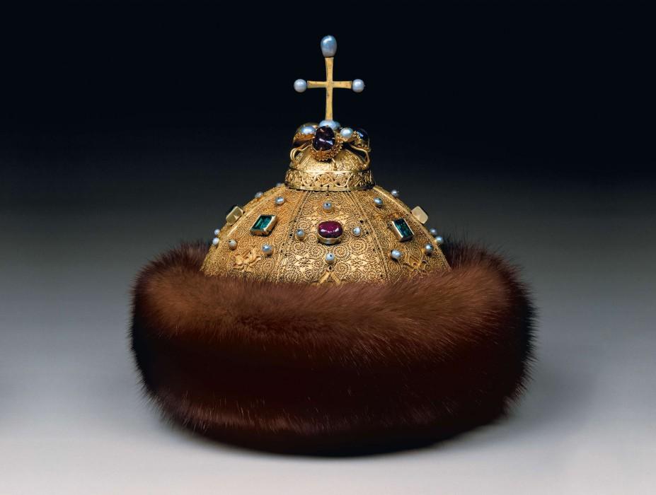 Шапка Мономаха - Оружейная палата Московского Кремля