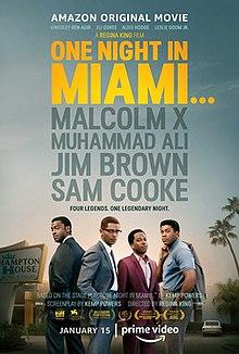 """""""Одна ночь в Майами"""", США, 2020, Amazon, режиссёр Реджина Кинг, автор сценария Кемп Пауэрс, композитор Теренс Бланшар"""