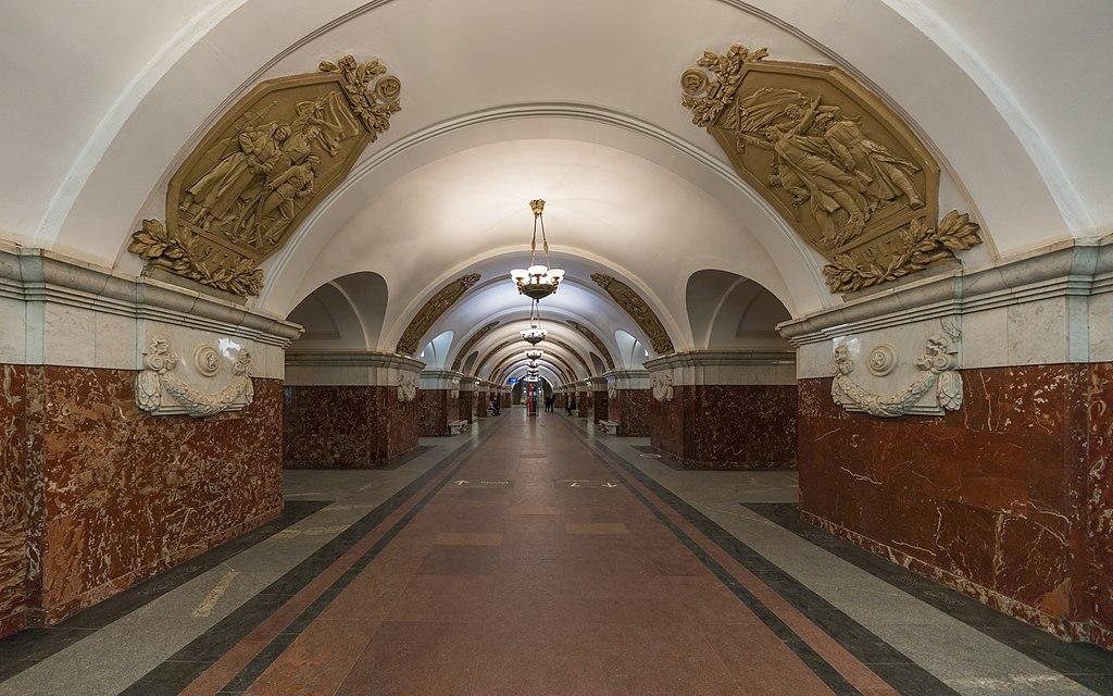 """Станция """"Краснопресненская"""", несостоявшаяся """"Пресня"""""""