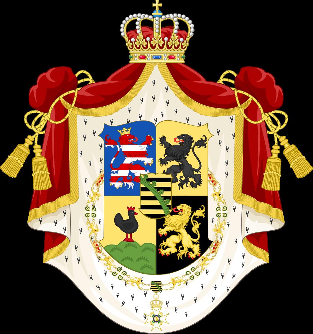 Герб Саксен-Кобург-Готской династии