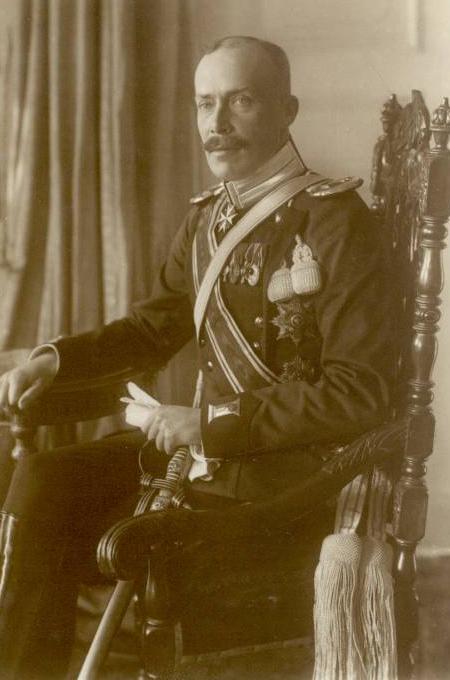 Вильгельм Фридрих цу Вид - князь Албании - фото