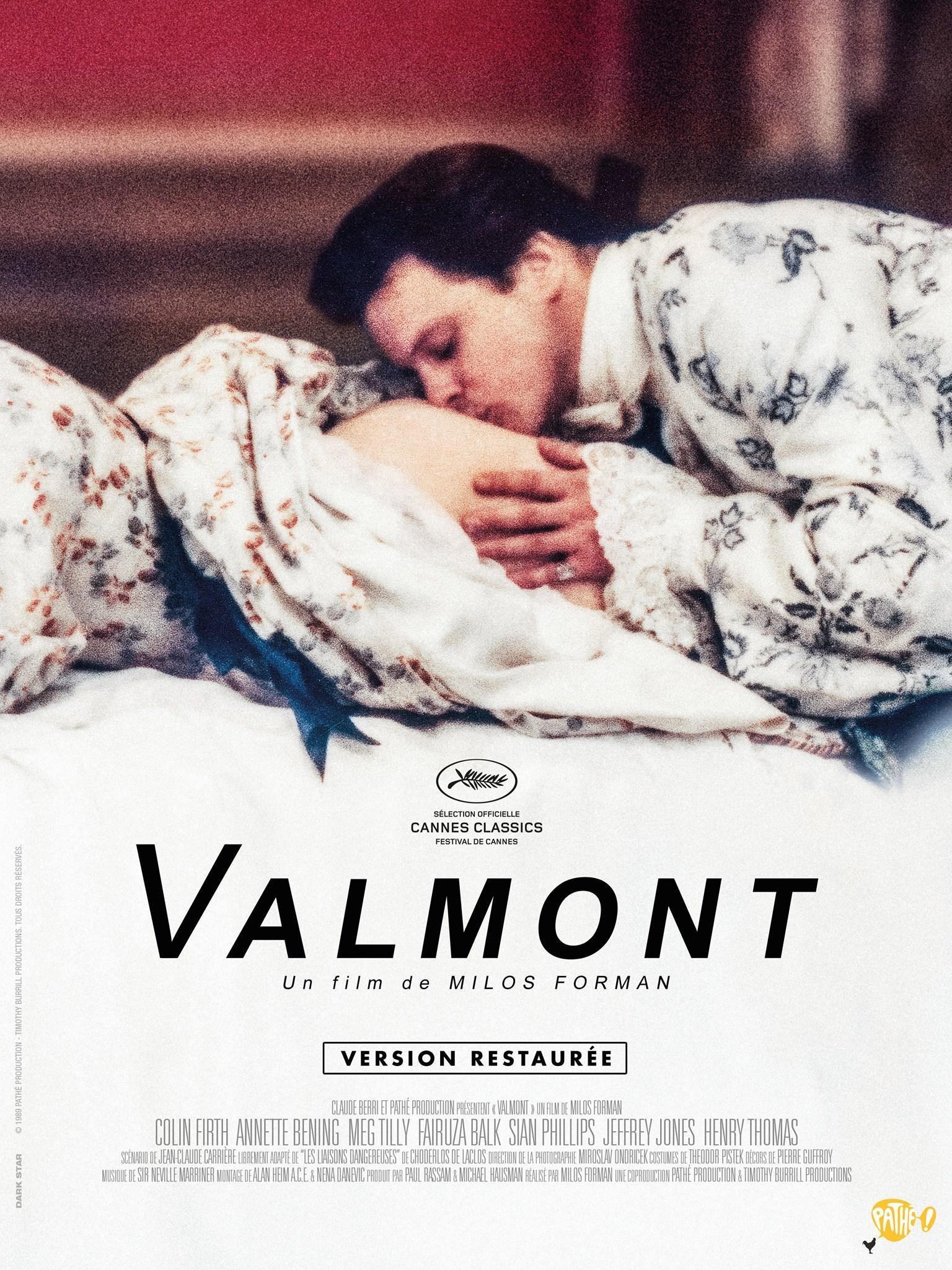 """""""Вальмон"""", США-Франция, 1989, Orion Pictures, режиссёр Милош Форман, автор сценария Жан Клод Каррьер, композитор Кристофер Палмер"""