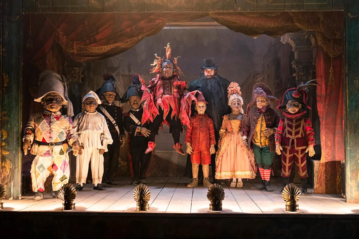 Пиноккио в театре Манджафоко