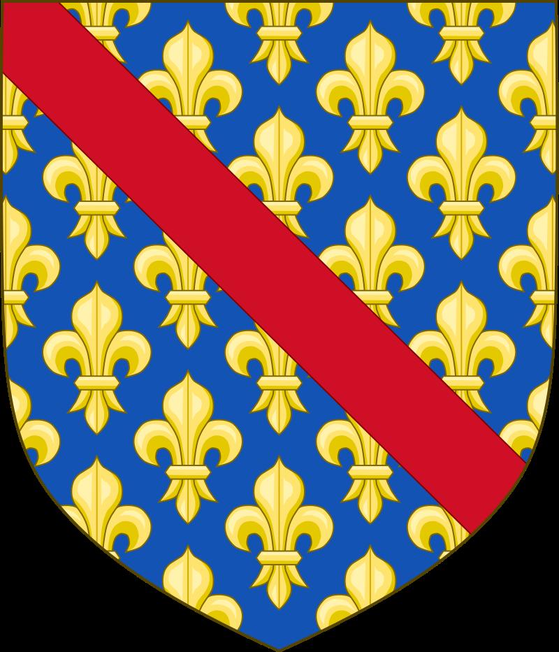 Герб дома Бурбонов