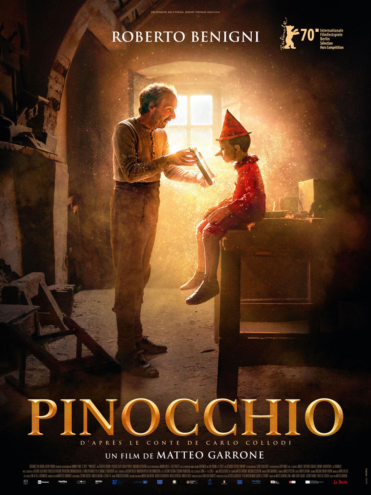 """Пиноккио"", Италия-Франция-Великобритания, 2019, Recorded Picture Company, режиссёр Маттео Гарроне, авторы сценария Маттео Гарроне и Массимо Чеккерини, композитор Дарио Марианелли"