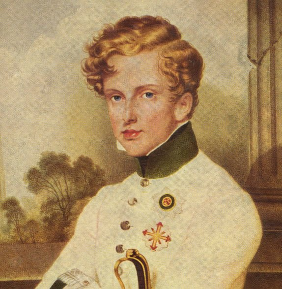 Наполеон II - портрет кисти Морица Даффингера
