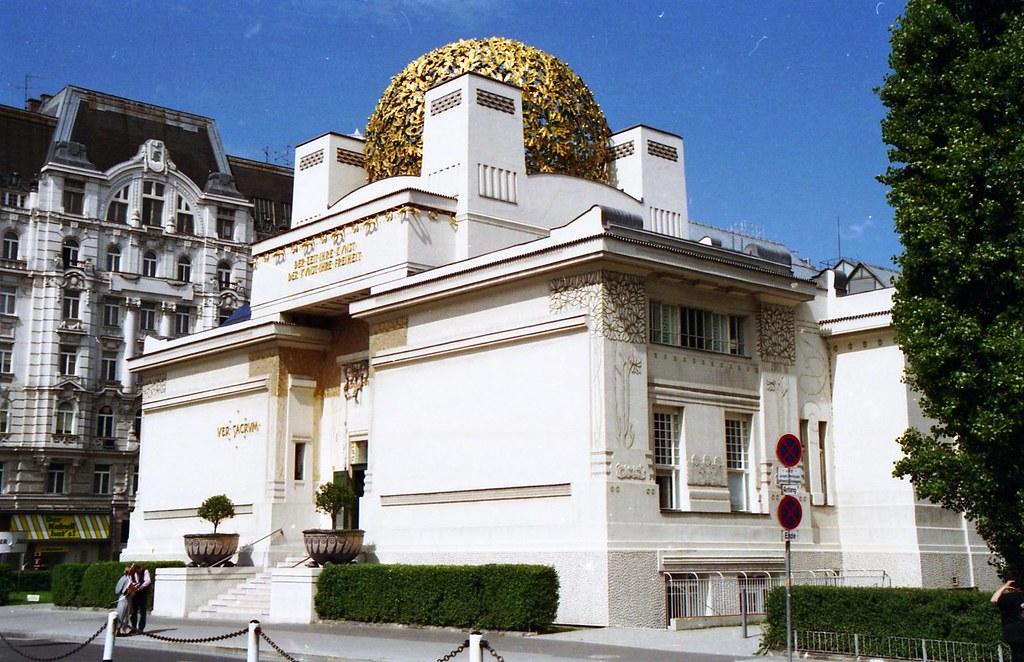Здание Сецессиона в Вене