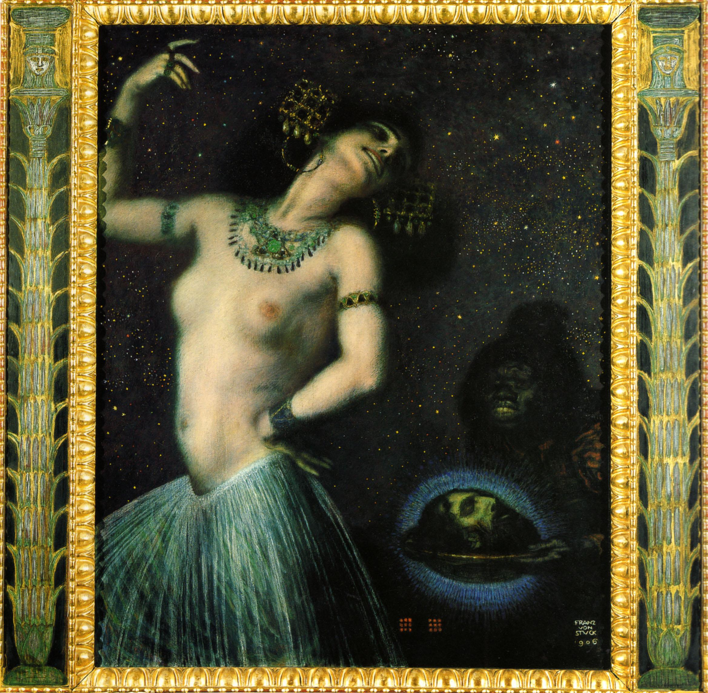 """Саломея"" — картина работы Франца фон Штука"