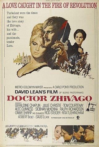 «Doctor Zhivago», США, 1965, Metro Goldwyn Meyer, режиссёр Дэвид Лин, автор сценария Роберт Болт, композитор Морис Жарр