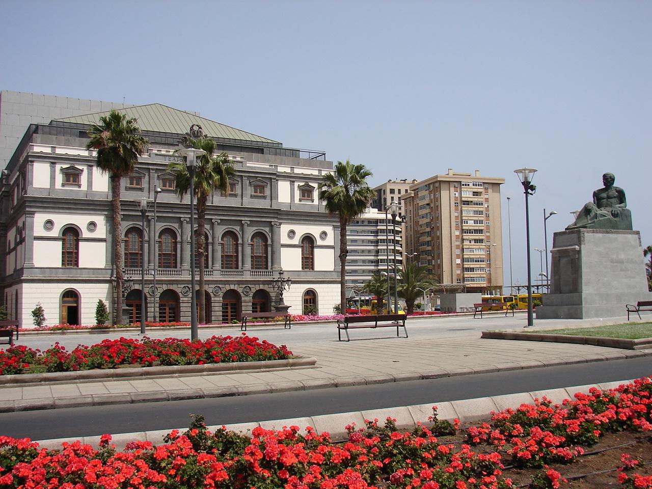 Театр Перес Гальдос в Лас Пальмас (Гран Канария)
