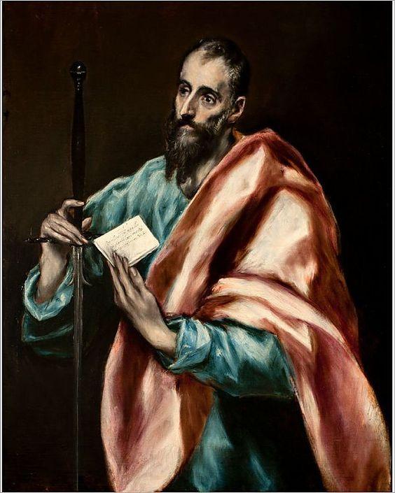 """""""Апостол Павел"""" — Эль Греко, XVII век"""