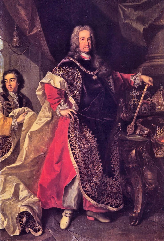 Карл VI — парадный портрет