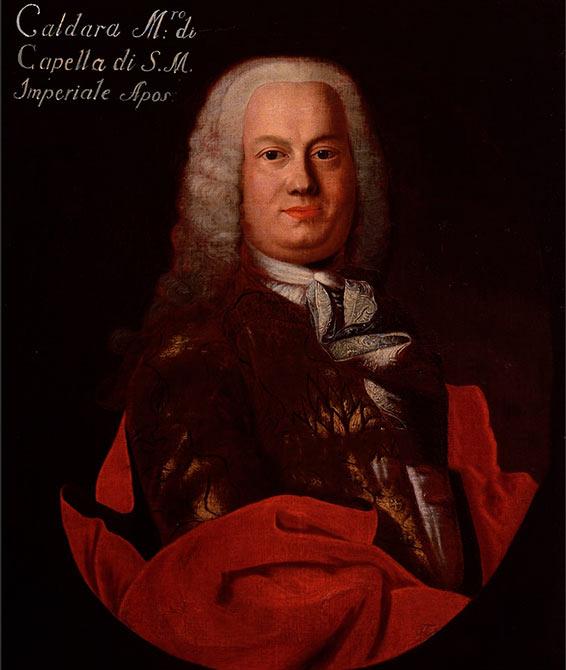 Антонио Кальдара — одно из немногих сохранившихся изображений