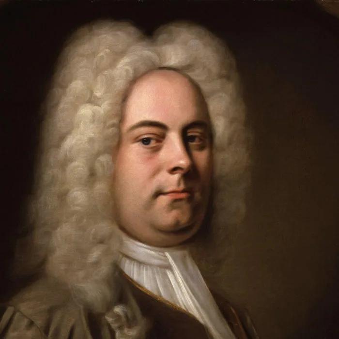 Георг Фридрих Гендель — фрагмент портрета кисти предположительно Бальтазара Деннера