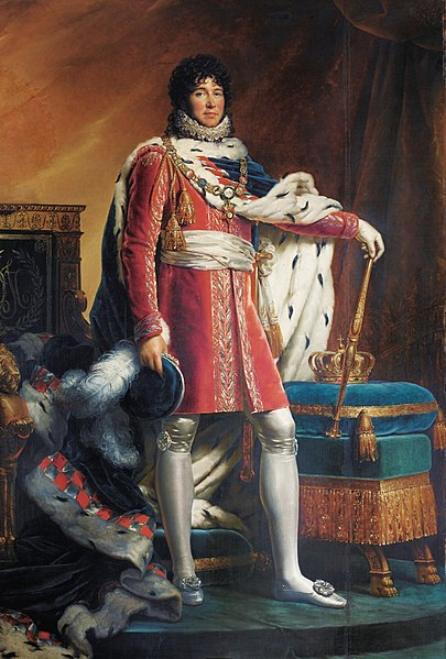 Франсуа Жерар — Иоахим Мюрат в регалиях короля Неаполя