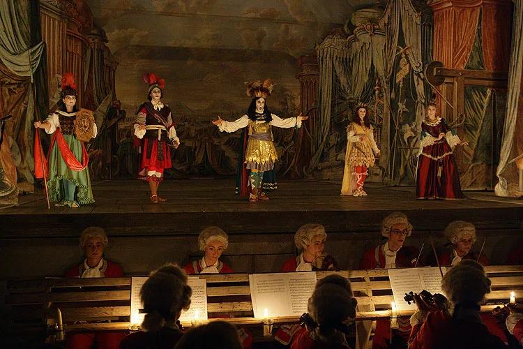 реконструкция оперного спектакля в барочном театре
