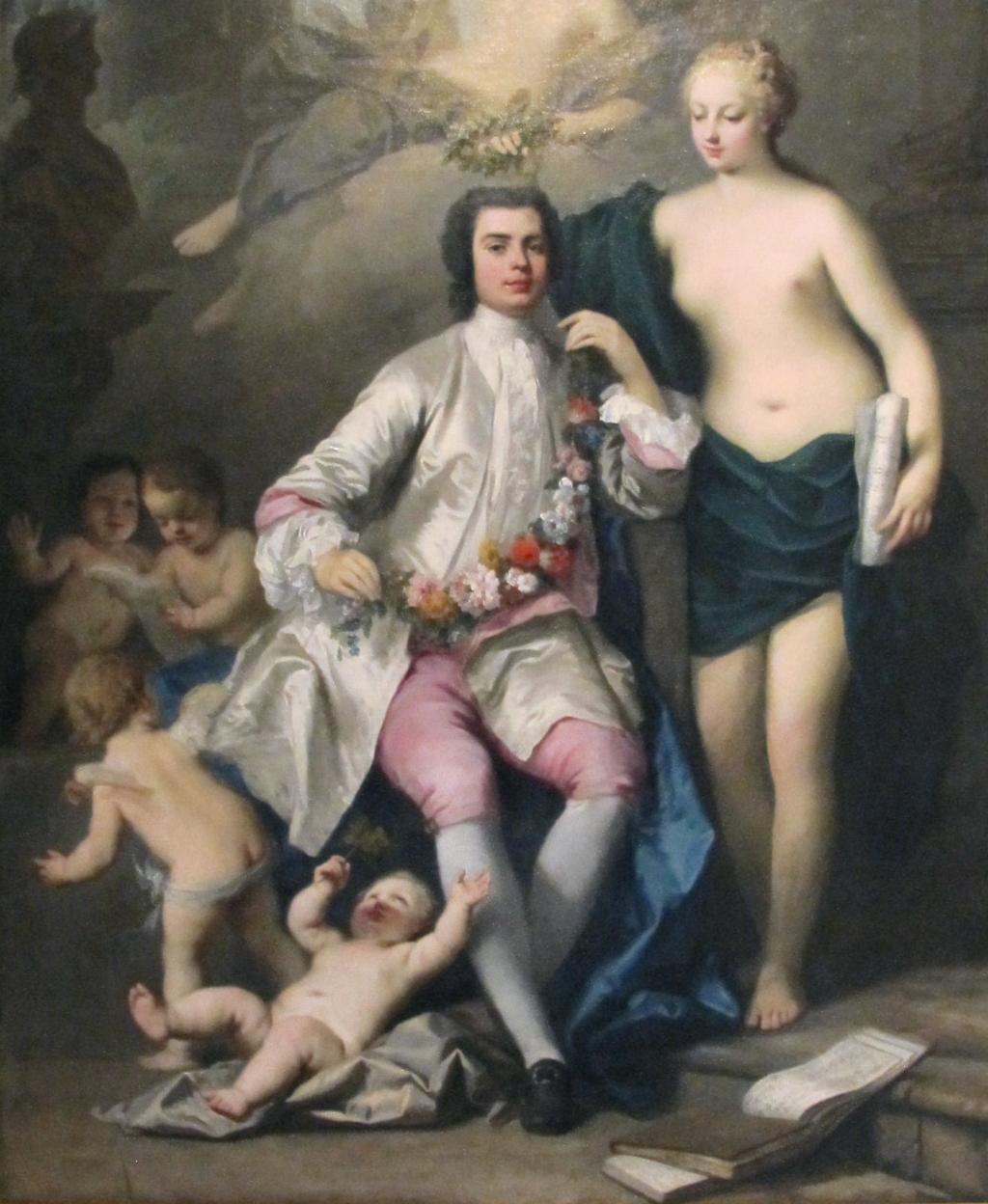 парадный портрет Фаринелли кисти Якопо Амигони