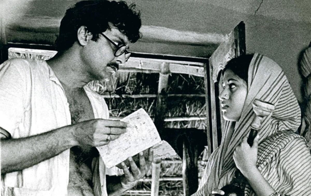 """Кадр из фильма """"Отдалённый гром"""" (Индия, 1972) — Золотой Медведь-1973"""