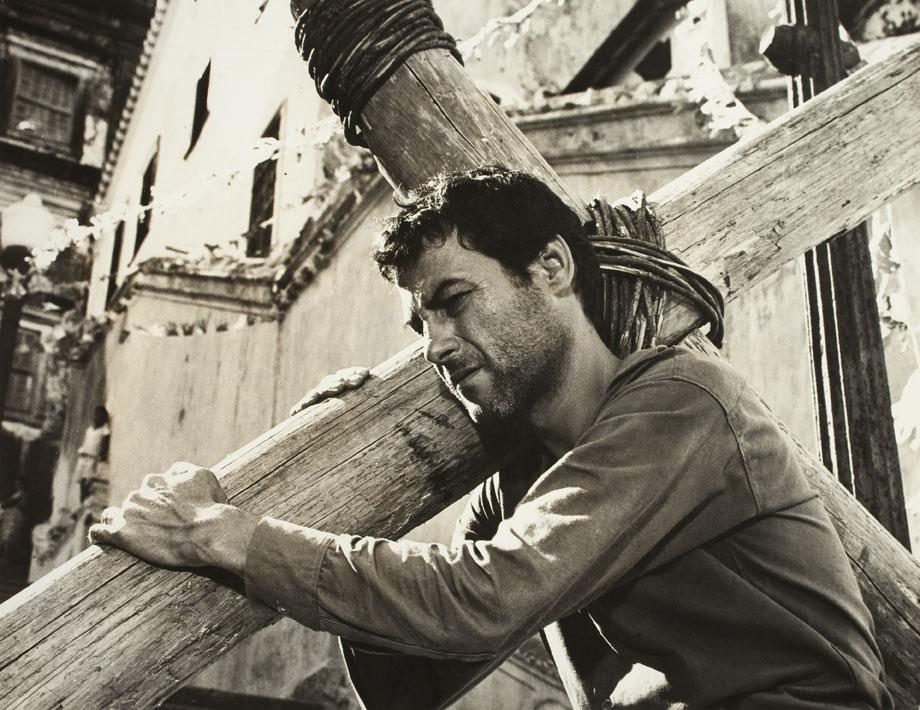 """Кадр из фильма """"Исполняющий обет"""" (Бразилия, 1962) — Золотая Пальмовая Ветвь-1962"""