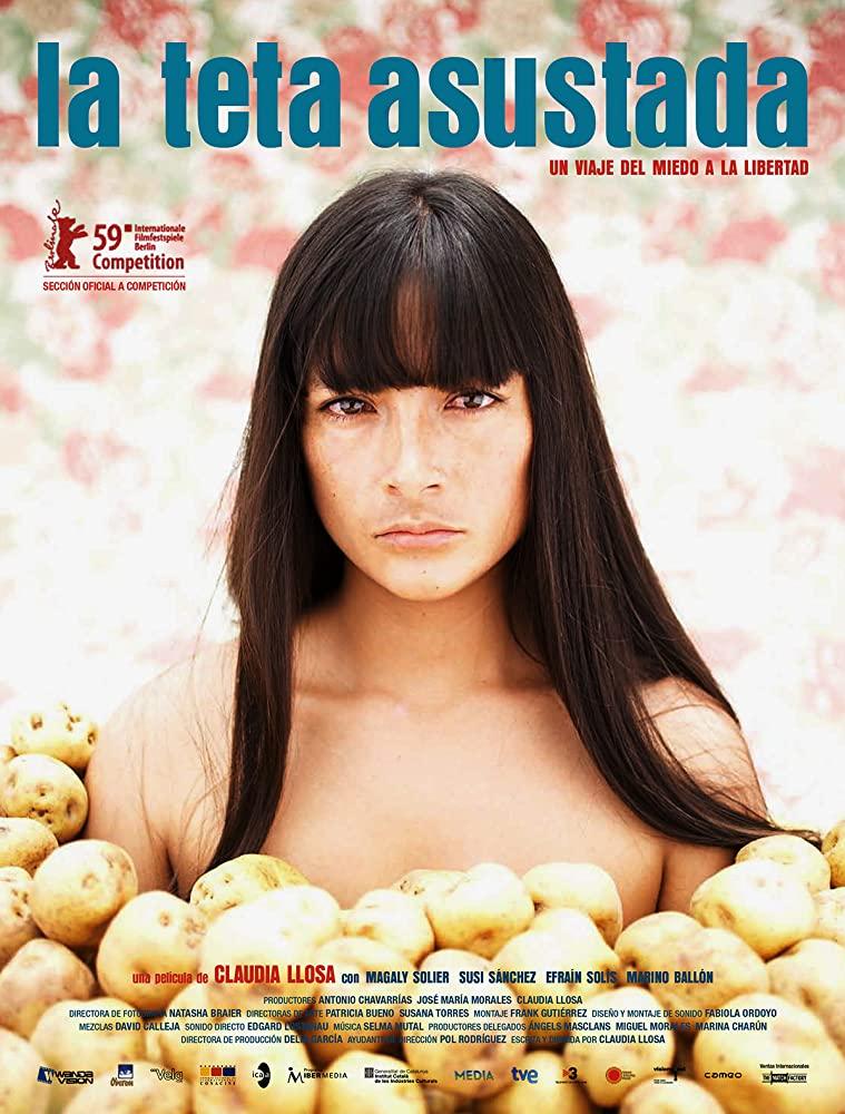 """Постер к фильму """"Пуганая сися (Молоко скорби)"""" (Перу, 2008) — Золотой Медведь-2009"""