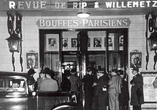Театр Буфф-Паризьен в 30-х годах прошлого века