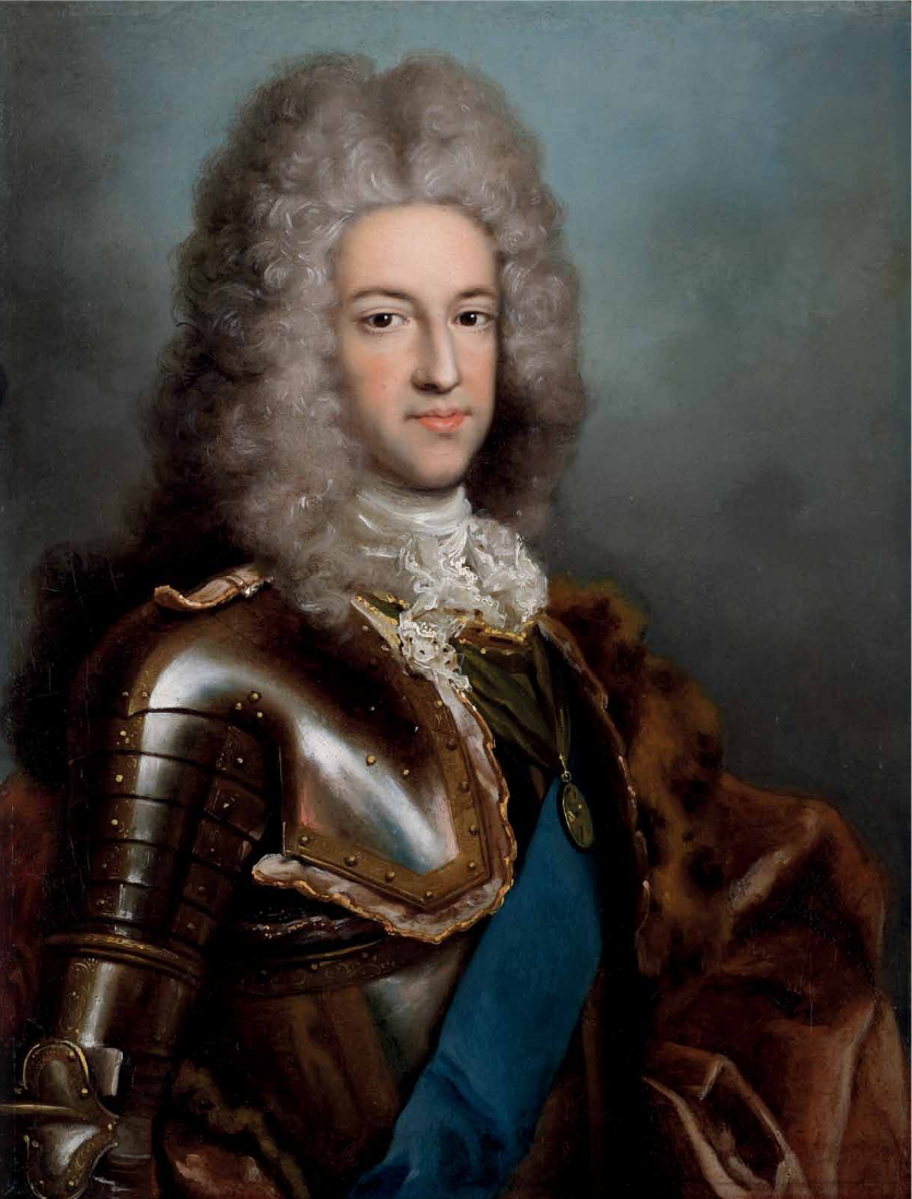 "Яков Стюарт, ""Старый претендент"" - портрет кисти А. Давида"