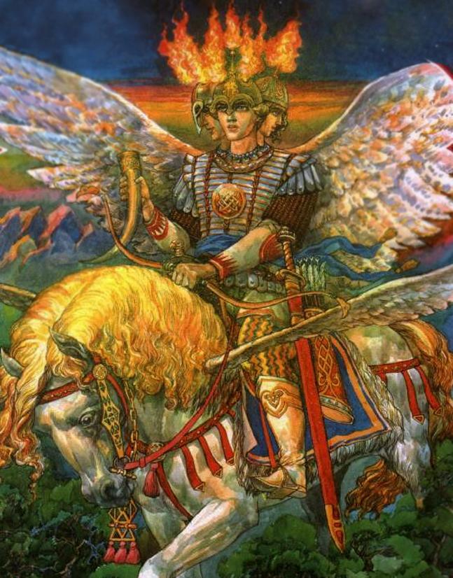 Святовит (Световит, Свентовит) - современное изображение