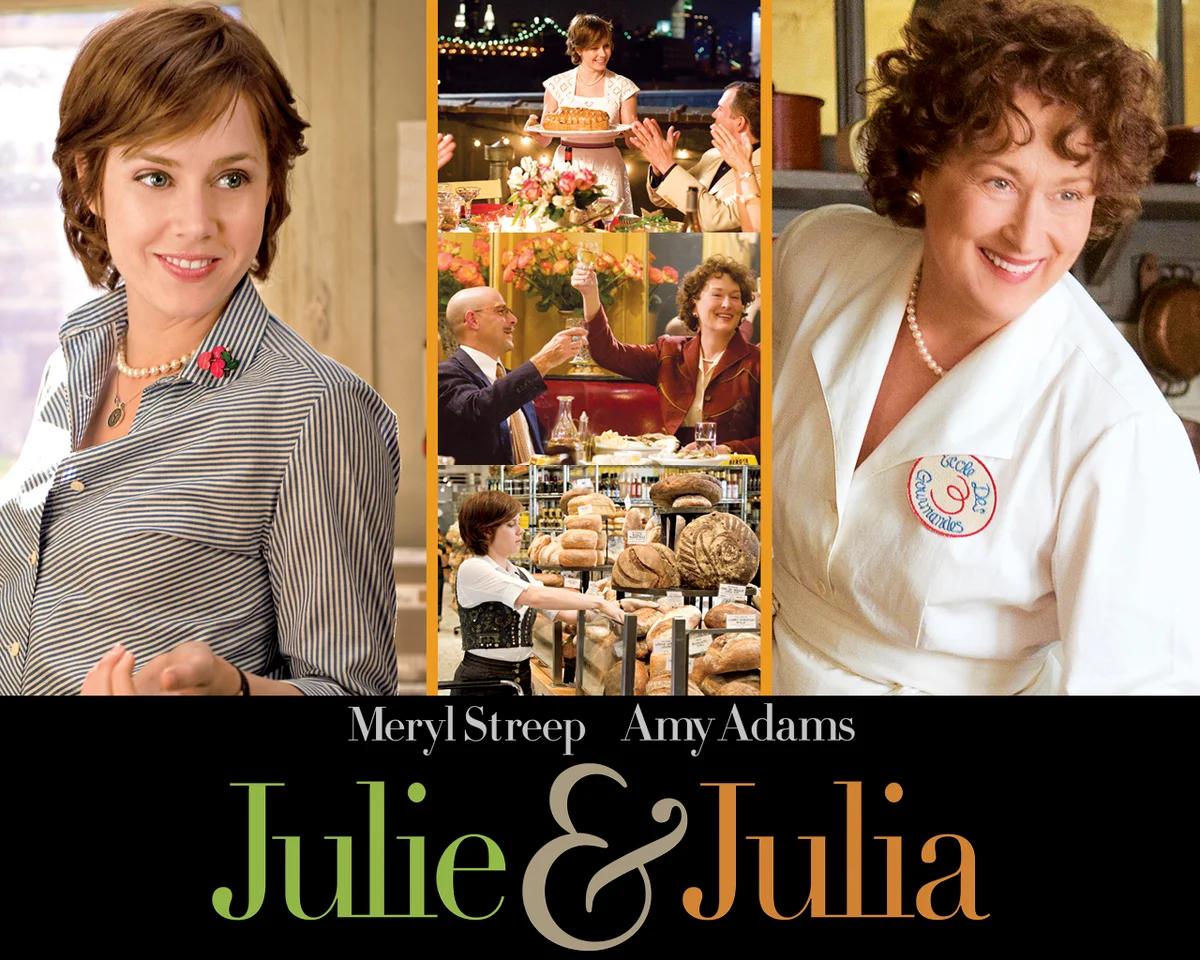 """""""Джули и Джулия"""", 2009, США, Columbia Pictures, режиссёр и автор сценария Нора Эфрон, композитор Александр Депла"""