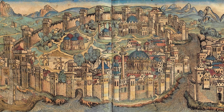 Константинополь - Царьград - Иерусалим