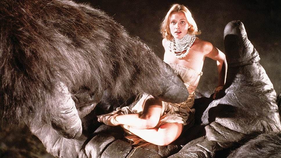 """Кадр из """"Кинг-Конга"""" 1976 года с Джессикой Лэнг"""