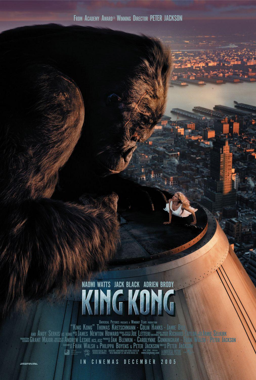"""Кинг-Конг"", США, 2005, Universal, режиссёр Питер Джексон, авторы сценария Фрэн Уолш, Питер Джексон и Филиппа Бойенс, композитор Джеймс Ньютон Говард"