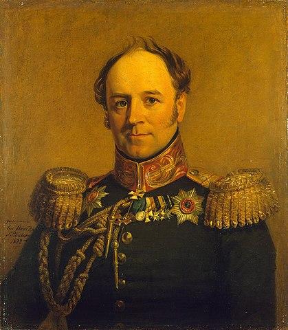 Граф А.Х. Бенкендорф — портрет кисти Дж. Доу