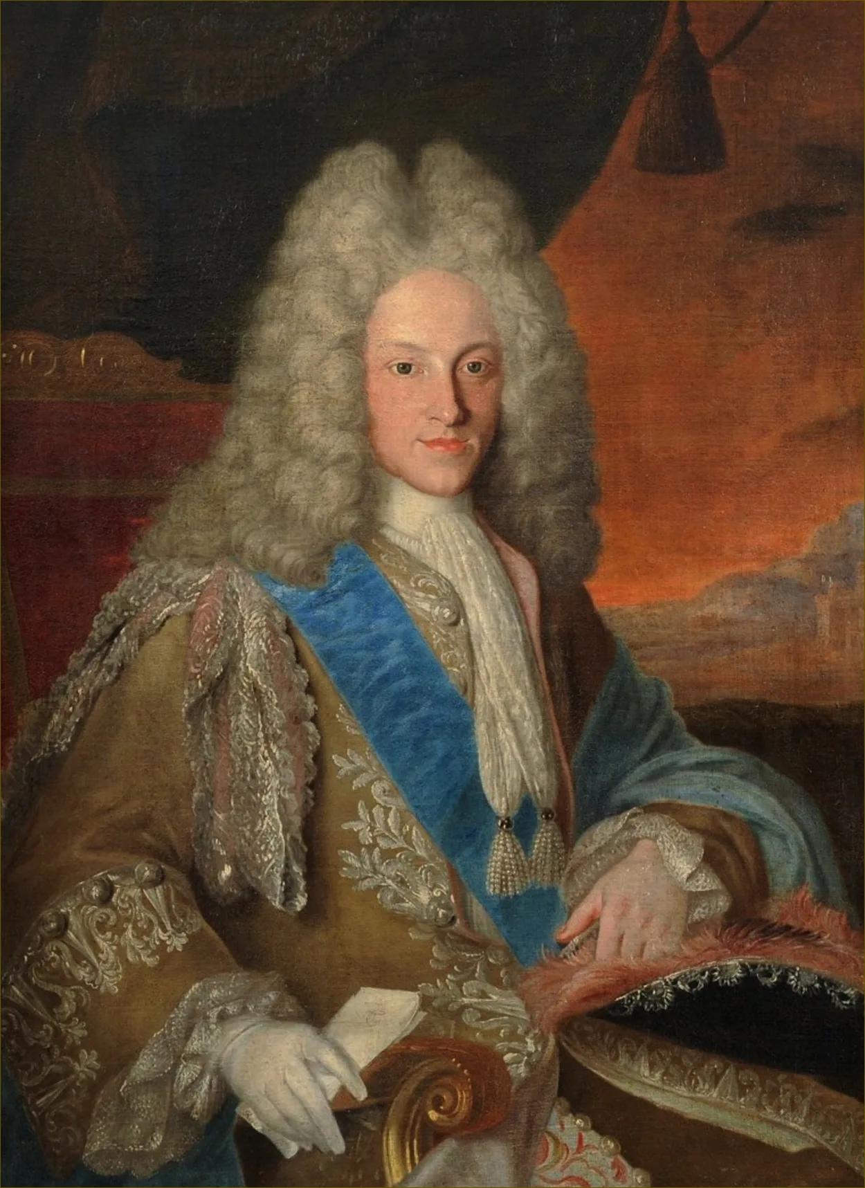 Филипп V — портрет кисти Жана Ранка