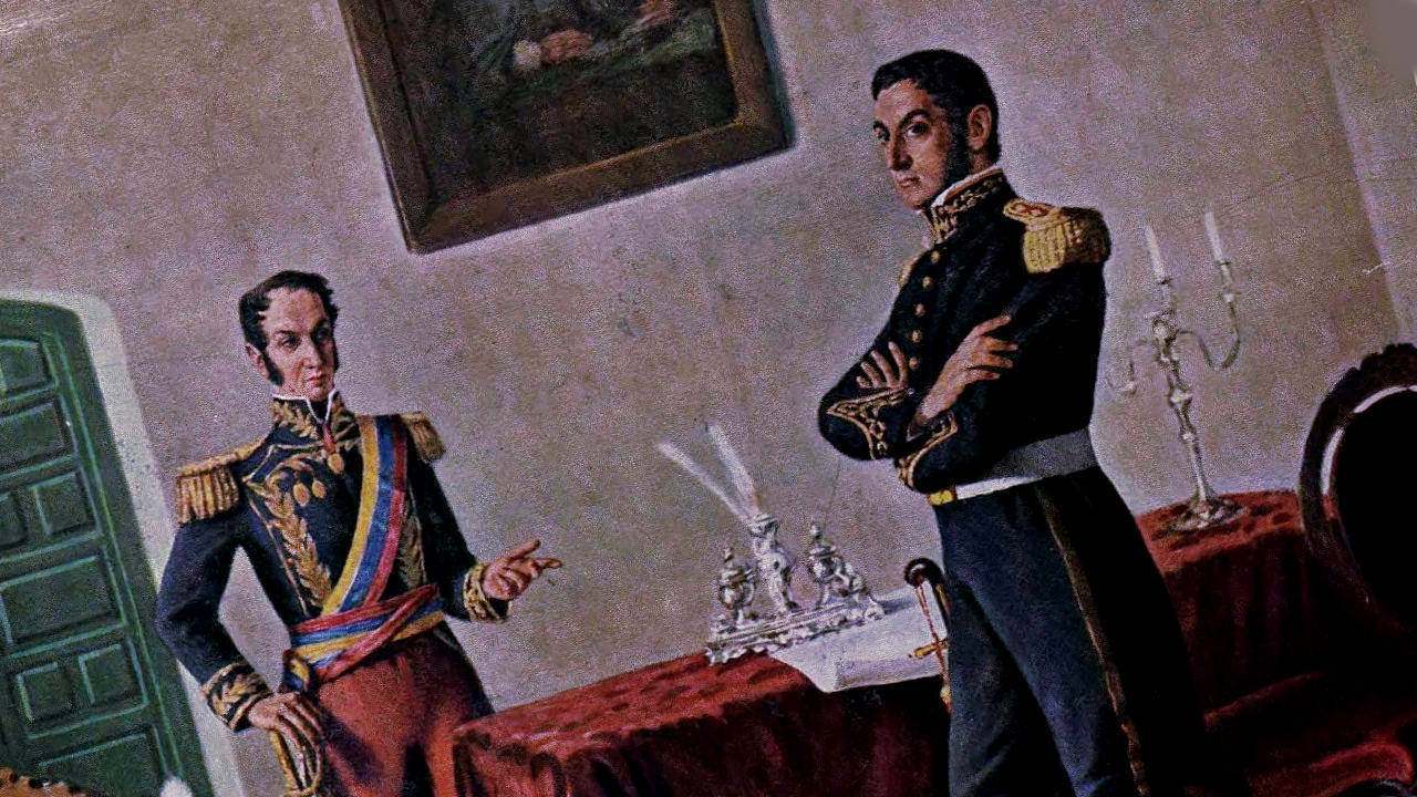 Встреча Боливара и Сан-Мартина