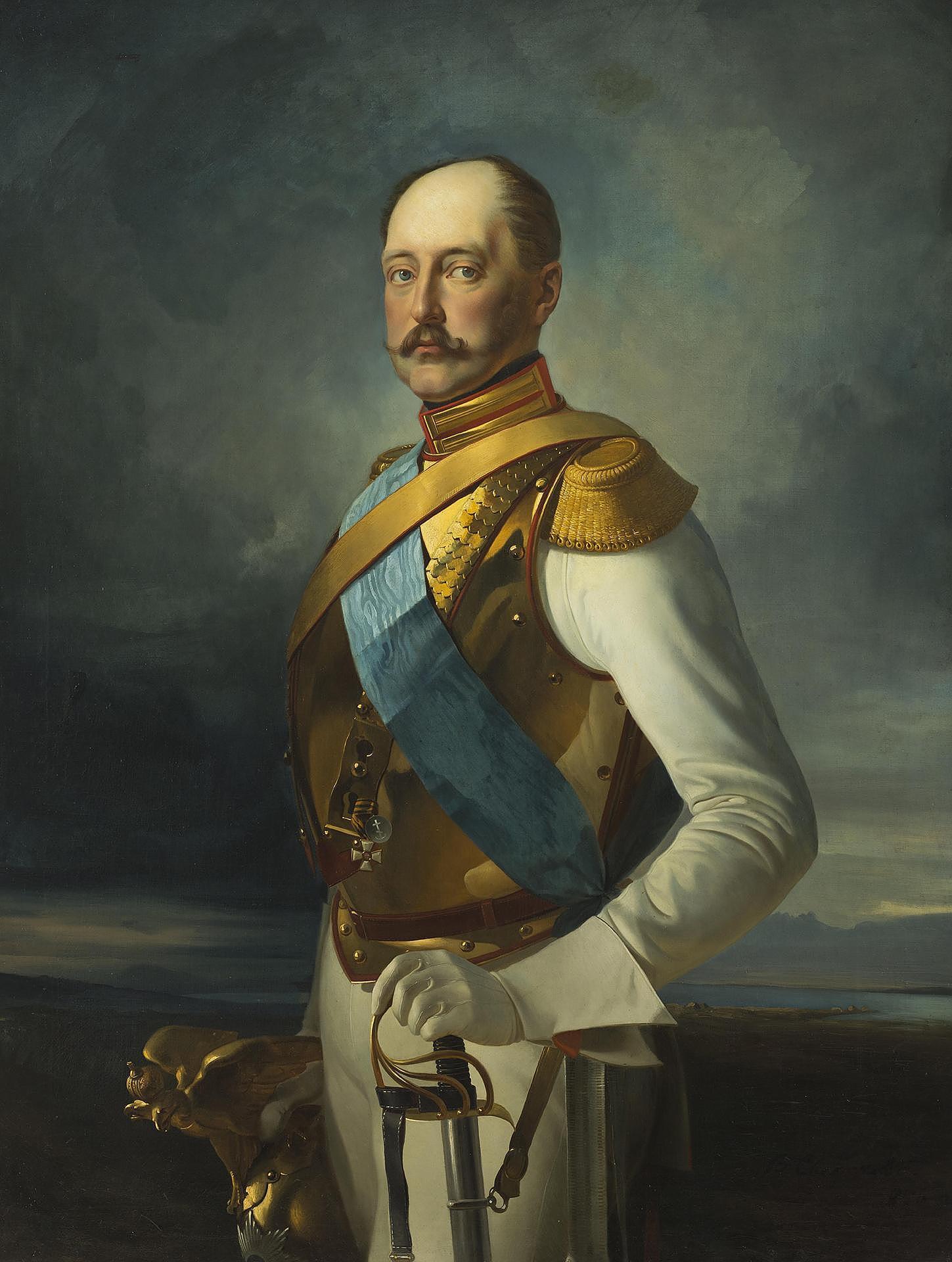 Николай I — портрет кисти В.Д. Сверчкова