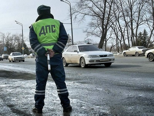 Фото с сайта ГИБДД МВД России в разделе работа сотрудников