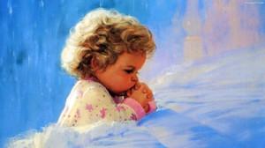 dziecko-modlitwa-blondynek