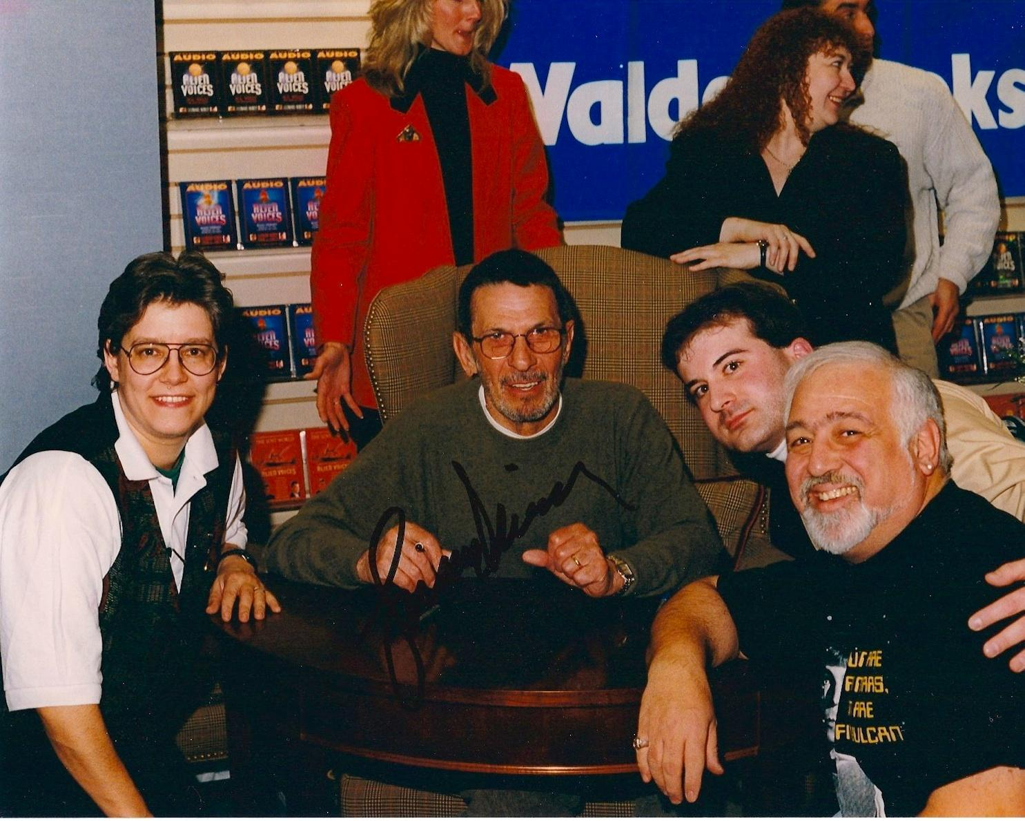 Nimoy Booksigning