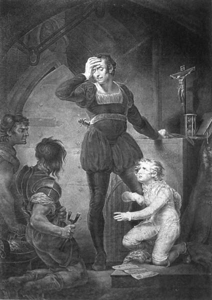Иллюстрация к исторической хронике Уильяма Шекспира Король Иоанн, Джеймс Норткот, 1789.jpg