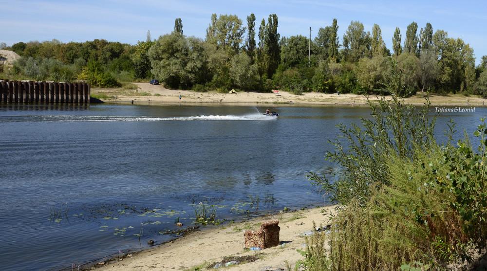 на реке Сож