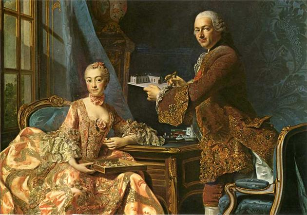 Architect_Jean_Rodolph_Perronet_with_his_wife,_Alexander_Roslin