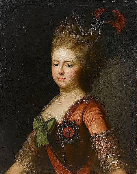 Portrait of Archduchess Maria Feodorovna