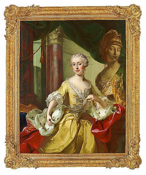 Portrait of princess Maria Felice Colonna