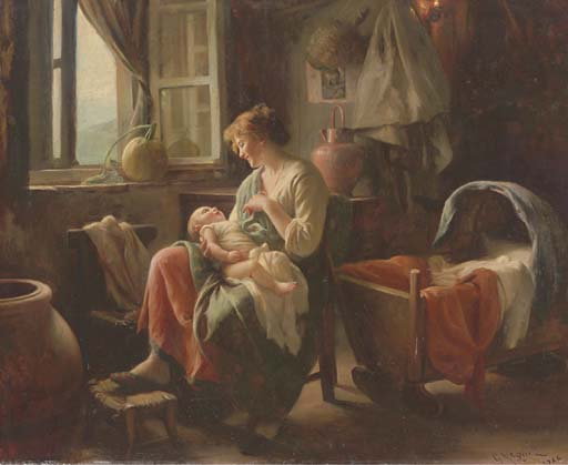 TENDING THE BABY