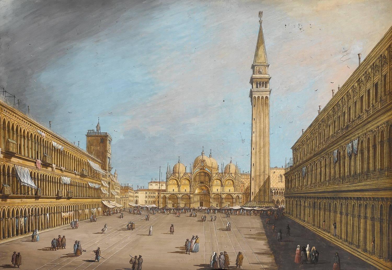 Площадь Сан Марко. Венеция