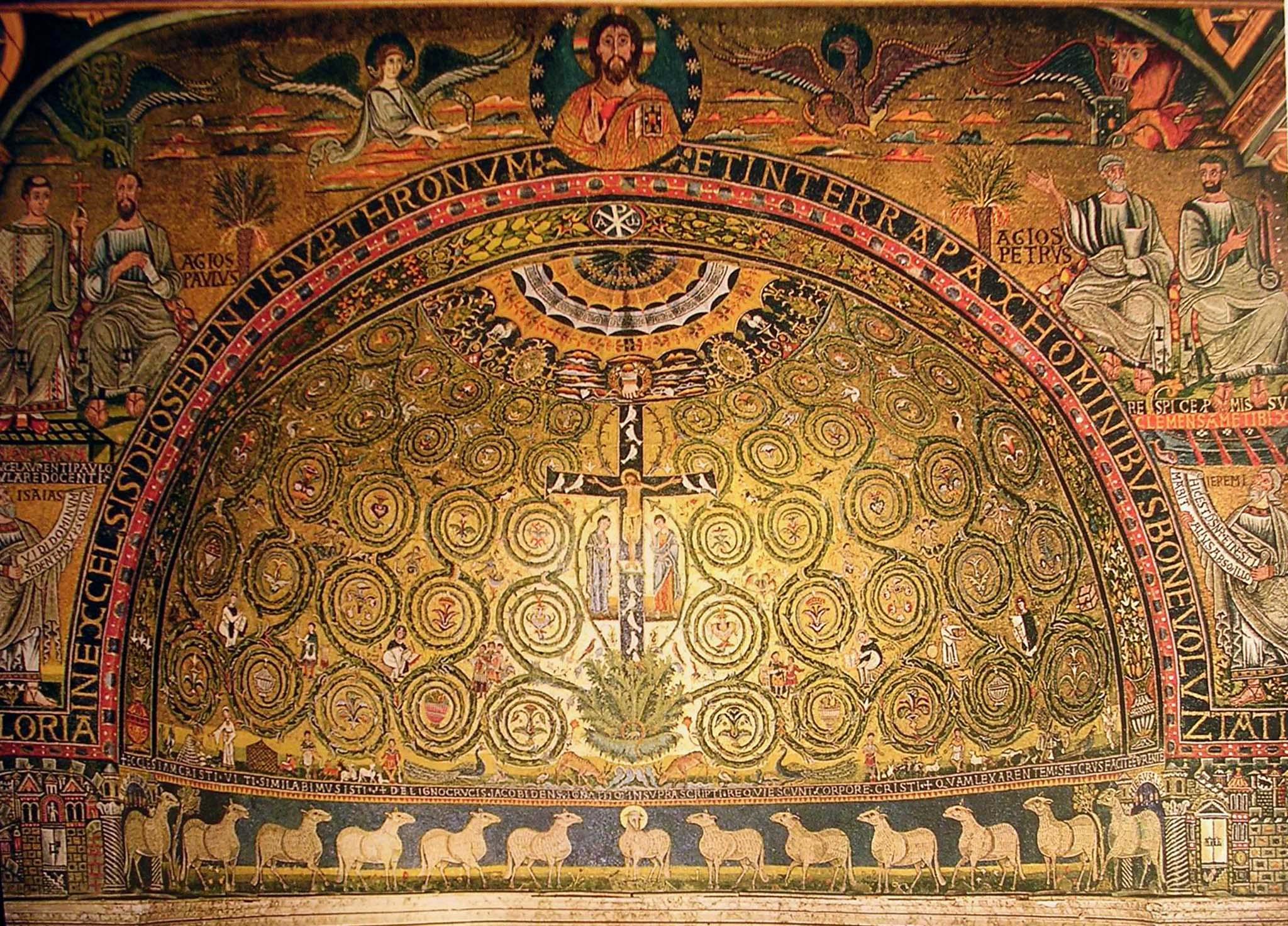 Mosaico di s.Clemente. (1)